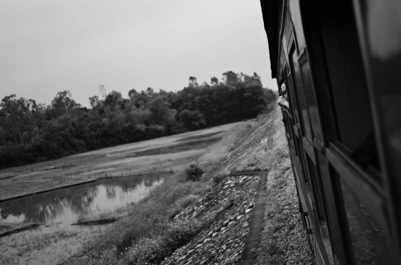 On the train to Da Nang, 2011